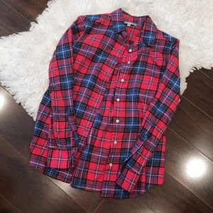 Uniqlo Tops - Plaid Button Up